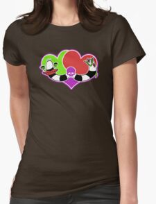 Twisted Love Womens Fitted T-Shirt