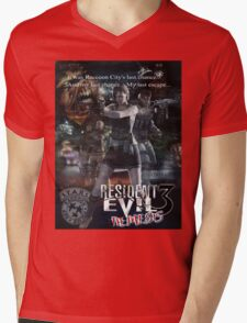 Resident Evil 3 Mens V-Neck T-Shirt
