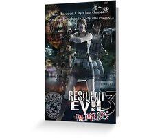 Resident Evil 3 Greeting Card