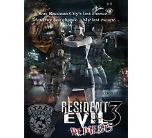 Resident Evil 3 Photographic Print
