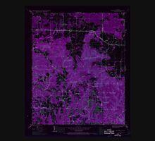 USGS TOPO Map Alabama AL Newburg 304679 1945 24000 Inverted Unisex T-Shirt
