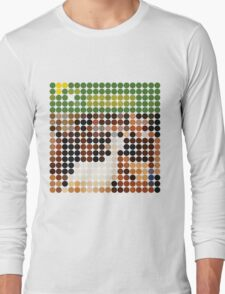THE BEACH BOYS, PET SOUNDS, BENDAY DOTS Long Sleeve T-Shirt