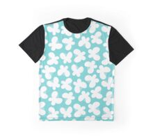 Butterflies on the turquoise background Graphic T-Shirt