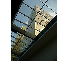 Bring in the light - contemporary architecture  Photographic Print