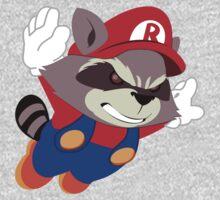 Super Raccoon Suit Kids Tee