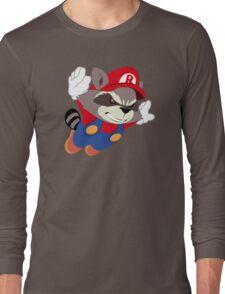Super Raccoon Suit Long Sleeve T-Shirt