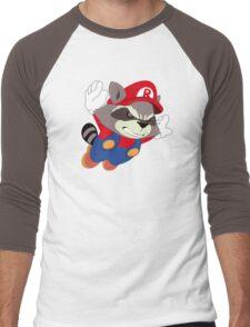 Super Raccoon Suit Men's Baseball ¾ T-Shirt