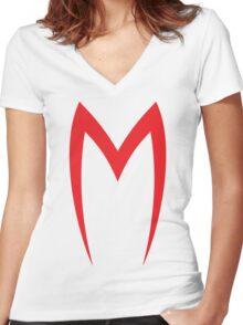 Speed racer Women's Fitted V-Neck T-Shirt