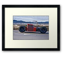 Jeepers 'Rat Rod' Creepers Framed Print