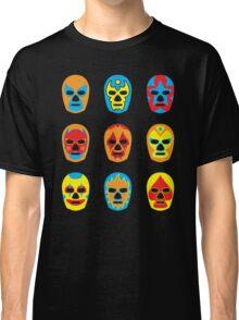 Lucha Libre • Mexican Wrestling Pop Masks Classic T-Shirt