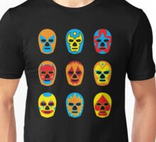 Lucha Libre • Mexican Wrestling Pop Masks Unisex T-Shirt
