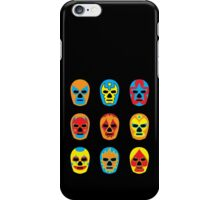 Lucha Libre • Mexican Wrestling Pop Masks iPhone Case/Skin