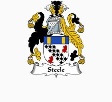 Steele Coat of Arms / Steele Family Crest Unisex T-Shirt