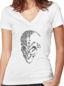 How many have you seen today? Women's Fitted V-Neck T-Shirt