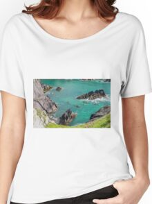 Pembrokeshire Coast Kayaking  Women's Relaxed Fit T-Shirt