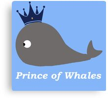 Prince of Whales Canvas Print