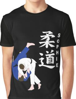 Personalised Judo Design Graphic T-Shirt