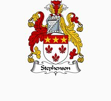 Stephenson Coat of Arms / Stephenson Family Crest Unisex T-Shirt