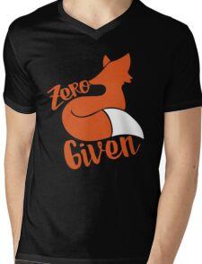 Zero FOX given Mens V-Neck T-Shirt