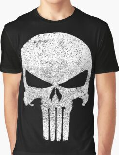 The Punisher Skull Graphic T-Shirt