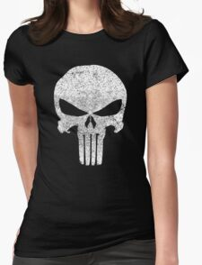 The Punisher Skull Womens Fitted T-Shirt