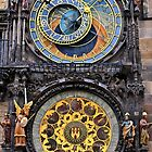 The astronomical clock of Prague by Hercules Milas