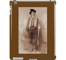 WANTED, Billy the Kid, Henry McCarty, William H. Bonney, Cowboy, American, Outlaw, Wild West iPad Case/Skin