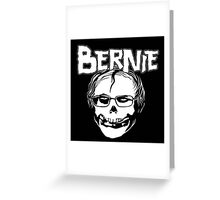 Bernie - Misfits logo Greeting Card