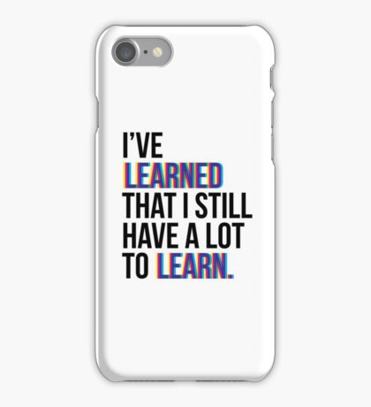 Everyday Learning iPhone Case/Skin