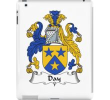 Day Coat of Arms / Day Family Crest iPad Case/Skin
