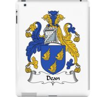 Dean Coat of Arms / Dean Family Crest iPad Case/Skin