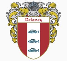 Delaney Coat of Arms/Family Crest One Piece - Short Sleeve