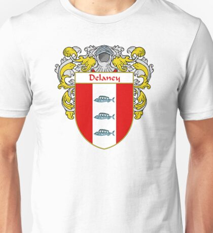 Delaney Coat of Arms/Family Crest Unisex T-Shirt