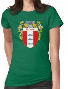 Delaney Coat of Arms/Family Crest Womens Fitted T-Shirt