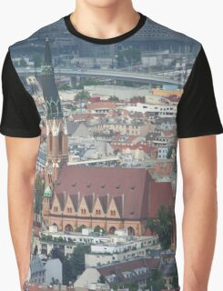 St. Leopold's Church, Donaufeld, Vienna Austria Graphic T-Shirt