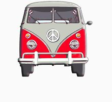 Volkswagen, Van, RED, Camper, Split screen, 1966 Volkswagen, Kombi (North America) Unisex T-Shirt