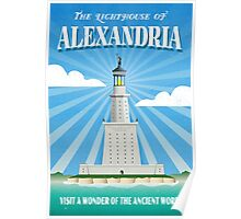 The Lighthouse of Alexandria Poster