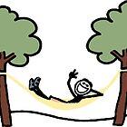 life is good hammock by Nancy Morgan