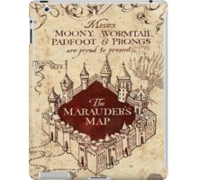 the marauders map iPad Case/Skin