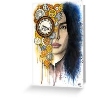 Time Will Tell Greeting Card
