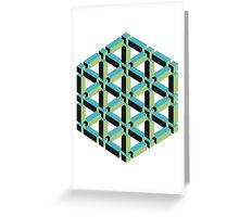 Isometric Cube Greeting Card