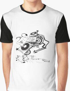 Disc jokey art Graphic T-Shirt