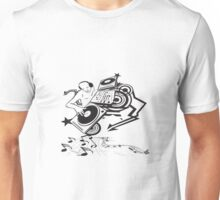 Disc jokey art Unisex T-Shirt