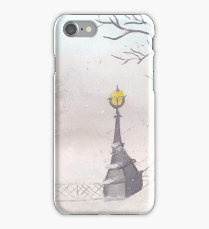 Beautiful winter scenery iPhone Case/Skin