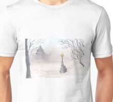 Beautiful winter scenery Unisex T-Shirt