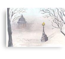 Beautiful winter scenery Canvas Print