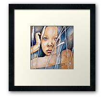 Today, right now...never Framed Print