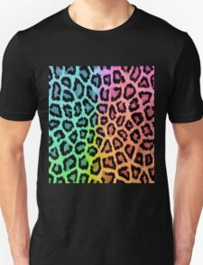 Colorful Leopard Animal Print Unisex T-Shirt