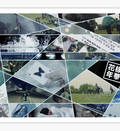 RUN Puzzle Sticker