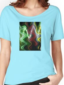 Color in Waves Women's Relaxed Fit T-Shirt